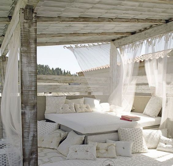 cortinas terraza chill out