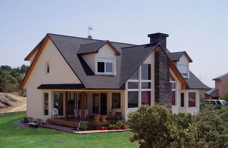 Casas canadienses de madera m s ecol gicas y a mejor - Casas americanas en espana ...