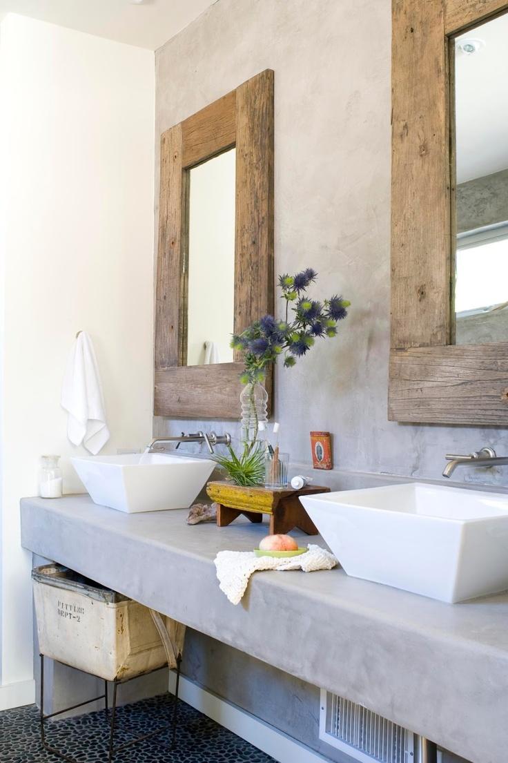 Baños Rusticos Con Encanto:Rustic Bathroom Mirror