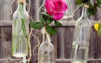 decoración botellas vidrio