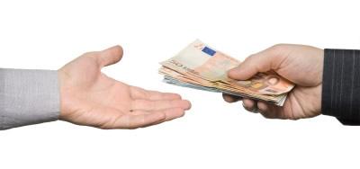 Pago en efectivo alquiler
