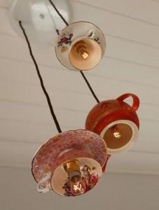 vajilla lámpara vintage
