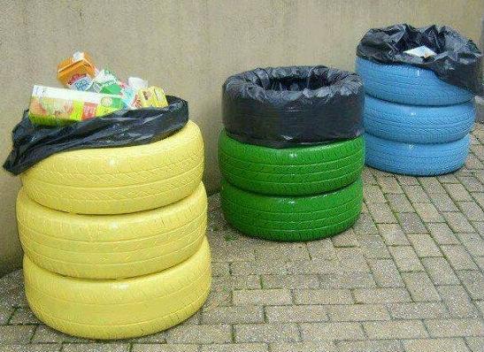 10 Ideas Para Reciclar Y Decorar Con Neumáticos Api Cat
