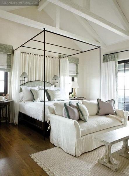 camas con dosel modernas