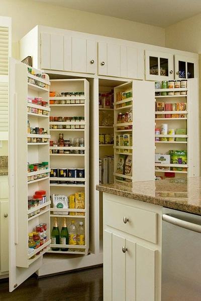 Alacenas de cocina grandes en espacios peque os - Alacena para cocina ...