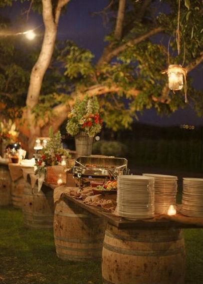 10 ideas para reciclar y decorar con barriles de vino for Casa set de table