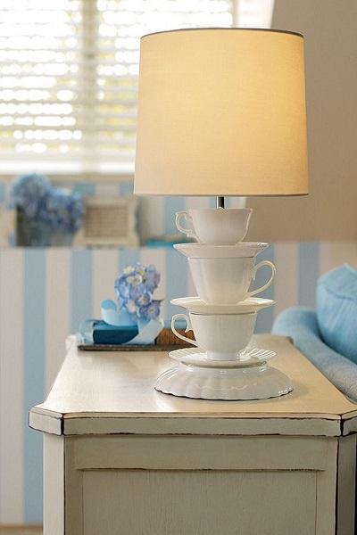 cómo hacer lámparas rústicas
