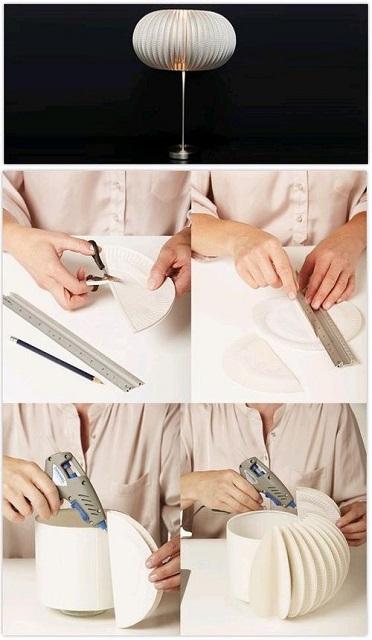 cómo hacer una lámpara