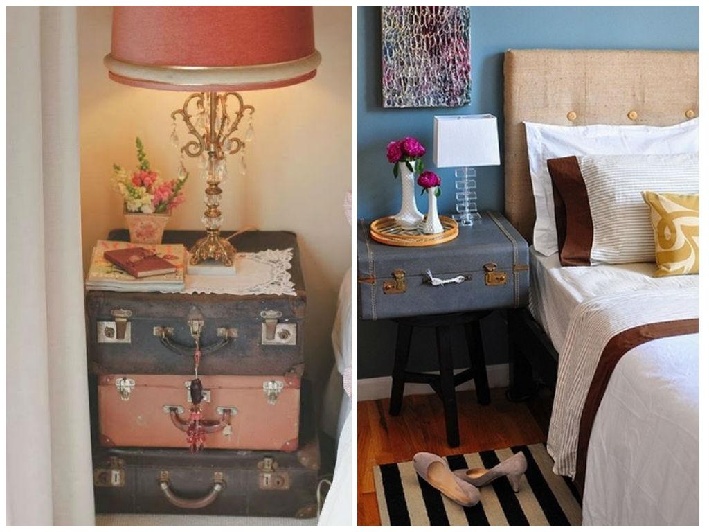 10 ideas para decorar tu casa con maletas antiguas - Decorar tu casa ...