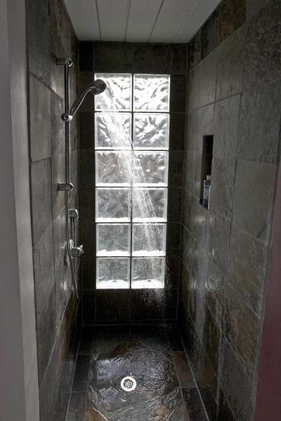 duchas con pavés
