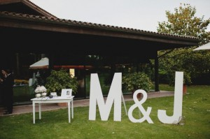Decorar con letras para anunciar eventos especiales