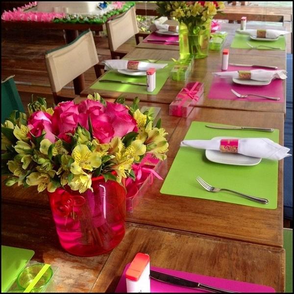adornos mesa