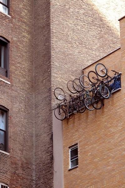colgar bicicletas
