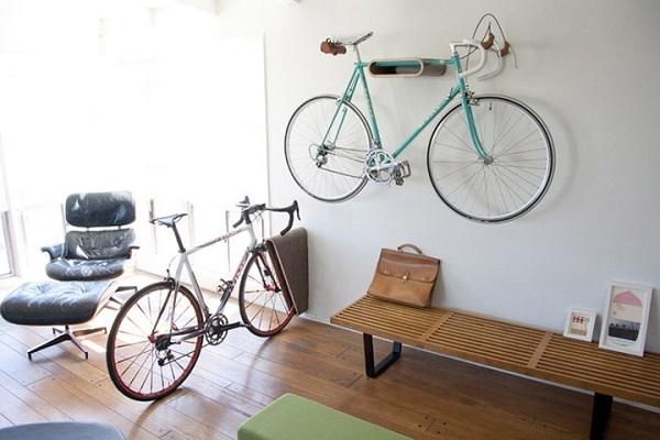 cómo guardar bici en casa
