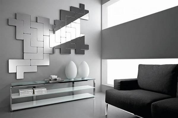 Loseta Adhesiva Para Baño:Decoración con espejos: recibidores, dormitorios y mucho más – Api