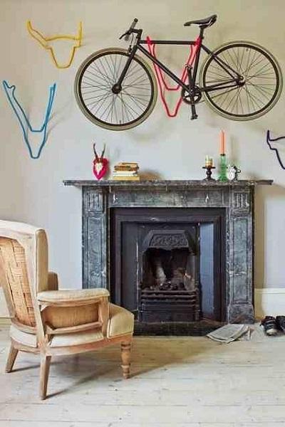 ganchos para colgar bicicletas