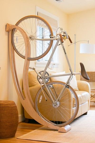mueble para guardar bicicletas