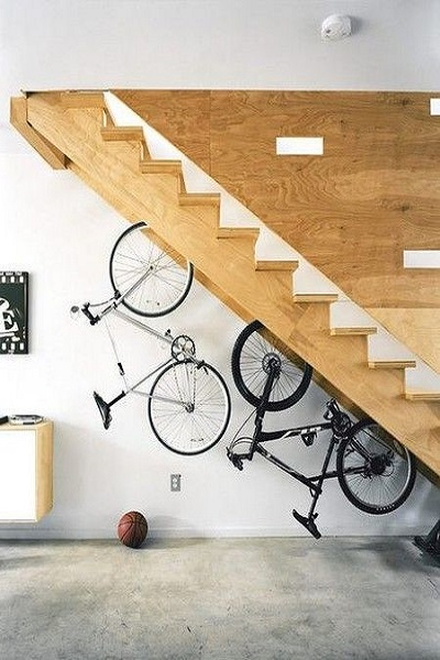 sistemas para colgar bicicletas