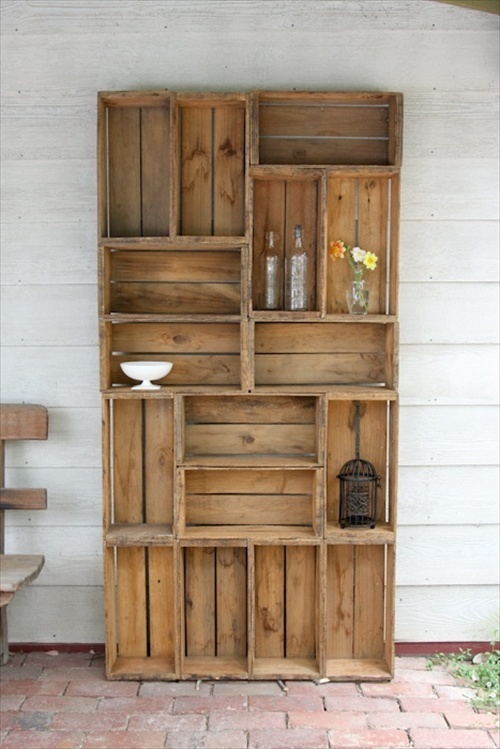 10 ideas para decorar con cajas de madera y plstico apicat