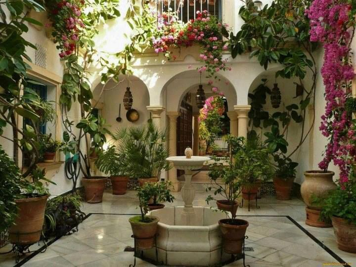Casa con patio interior el encanto de un tipo de - Casas tipicas andaluzas ...