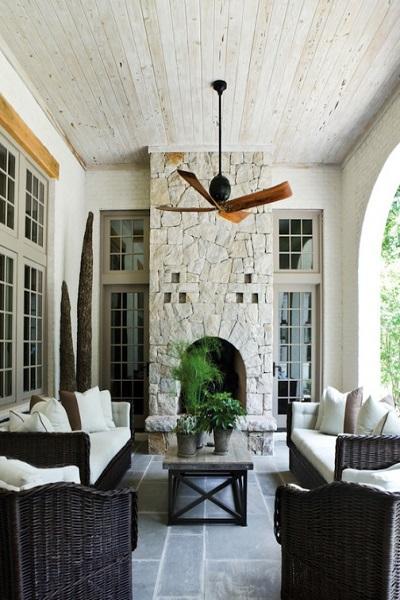 diseños de porches de casas