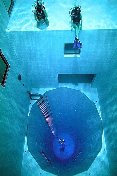 piscina más profunda