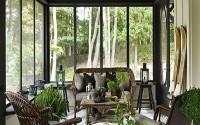 porches de madera acristalados