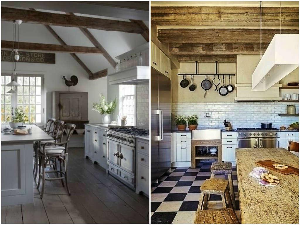Cocinas Rusticas Modernas Vs Cocinas Minimalistas Apicat - Cocinas-rusticas-modernas-fotos