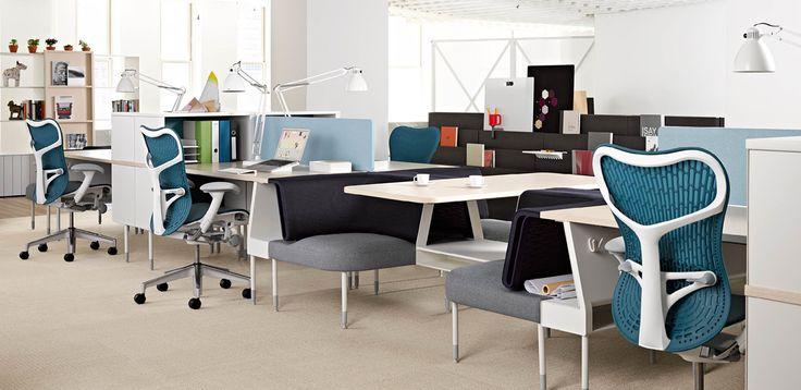 Cómo decorar una oficina moderna y dar con el mobiliario de oficina ...
