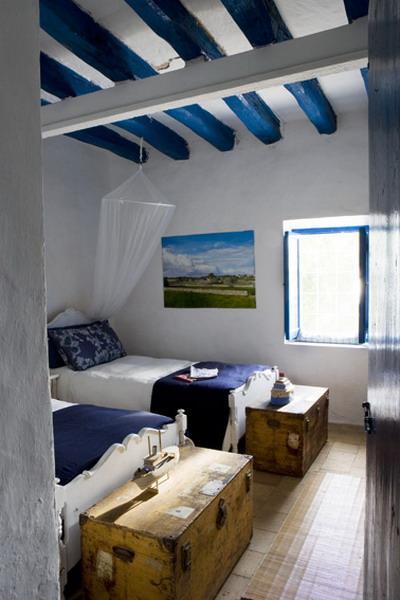 decoració mediterrània dormitoris