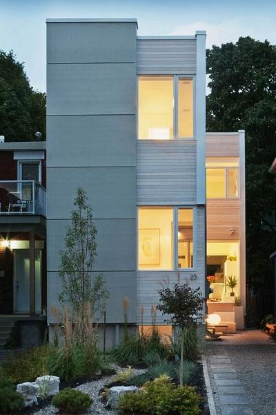 Low cost minimalist house design - Estilo Minimalista En Interiores Y Fachadas Fotos De