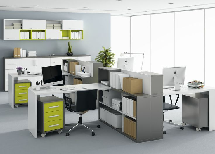 Para decorar una oficina el mobiliario debe presentarse de forma limpia y ordenada