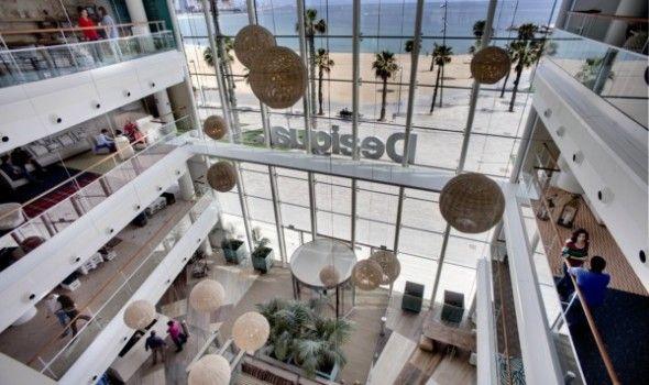 Interior de oficinas en Barcelona