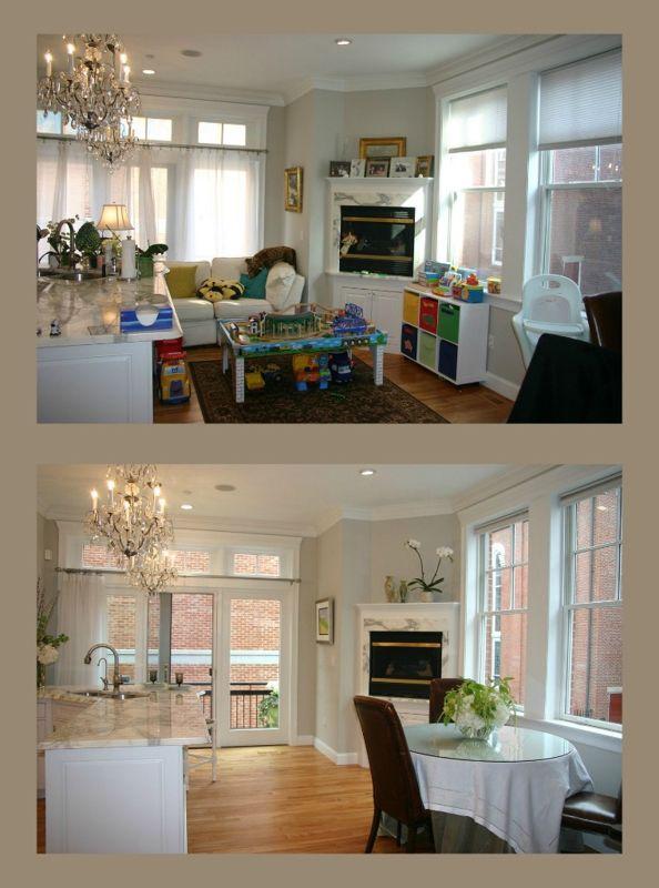 Antes y después de recurrir al Home Staging