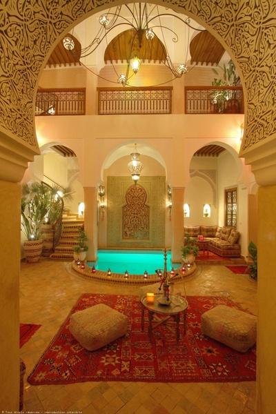 Casas rabes estilo fachadas decoraci n rabe de - Casas estilo arabe ...