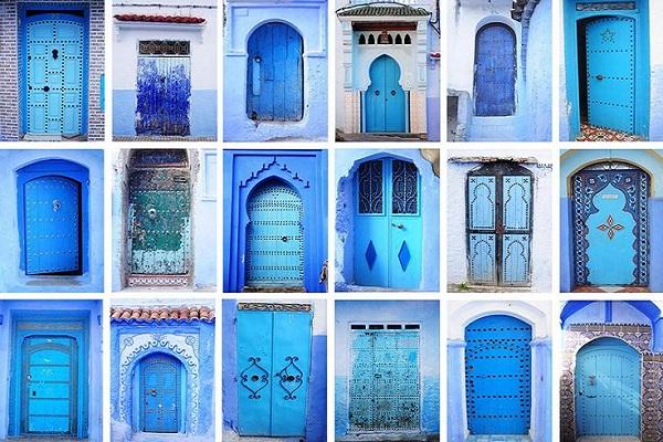 fachadas de casas árabes