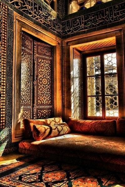 habitación estilo árabe