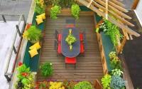 Uso privado de terraza comunitaria, ¿se puede?