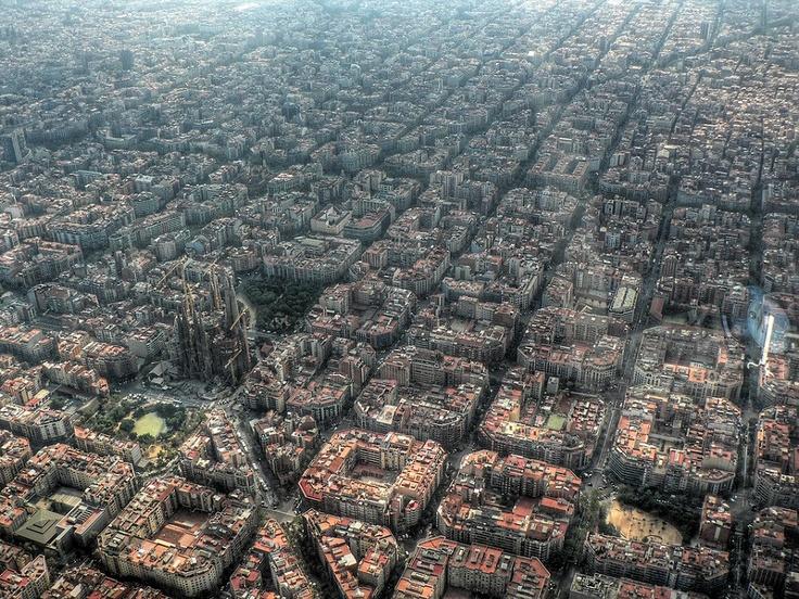 Districte de l'Eixample a Barcelona