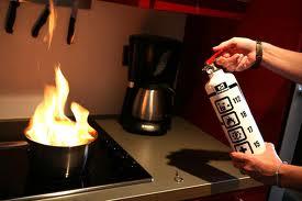 Uso del extintor en el hogar