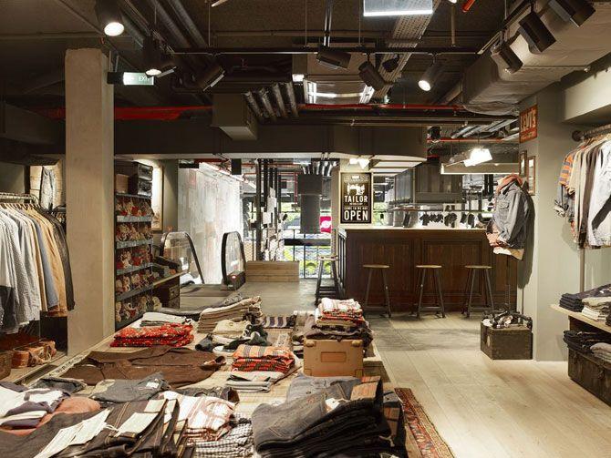 Interior de local comercial
