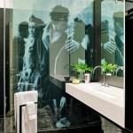 mamparas de cristal para baños