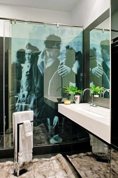 mampares de cristall per a banys