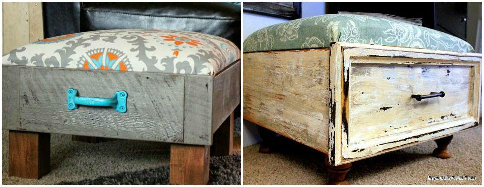 Ideas para reciclar cajones viejos - api.cat