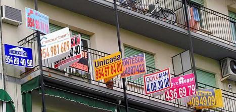 Carteles de pisos en venta