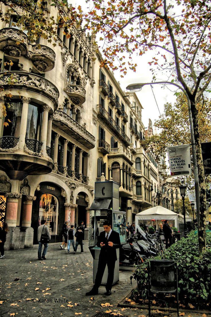 Paseo de Gràcia de Barcelona