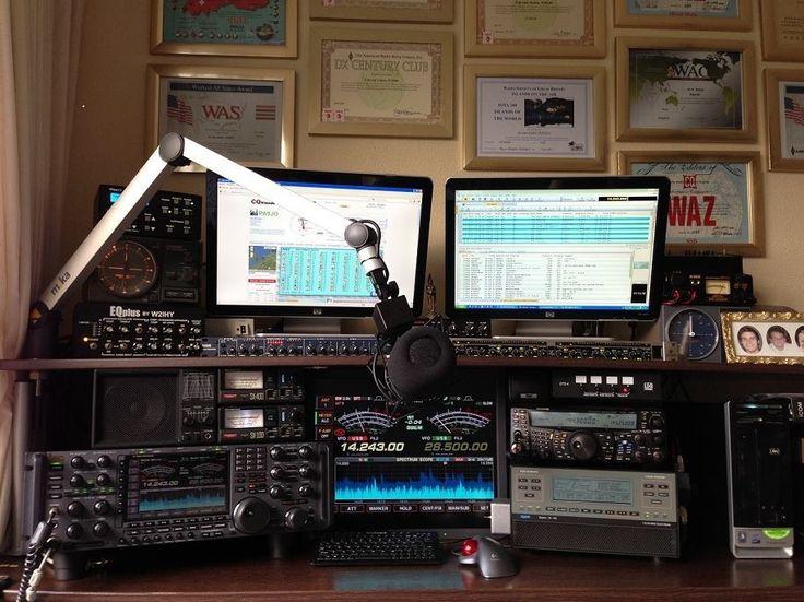 Estaciones de radioaficionados