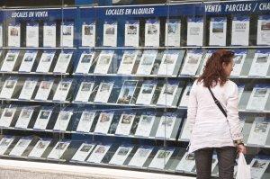 Escaparate Agencia Inmobiliaria