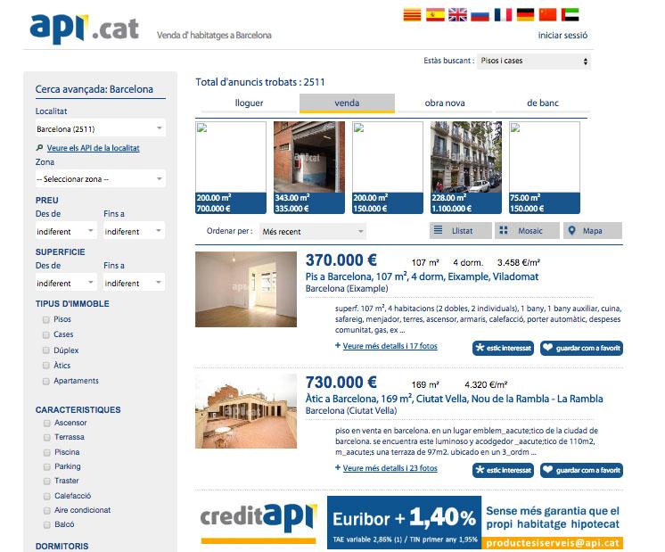 Web inmobiliaria