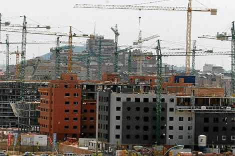 Recuperación del sector inmobiliario